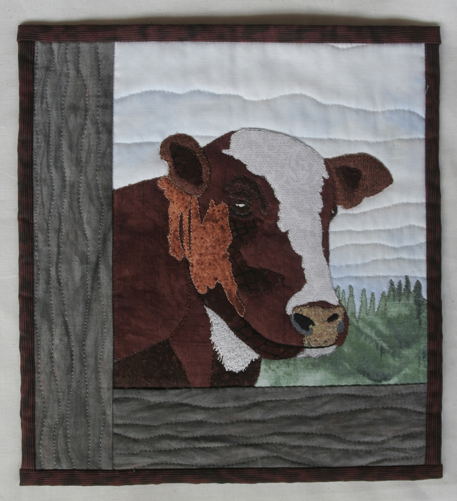 cow -wall quilt