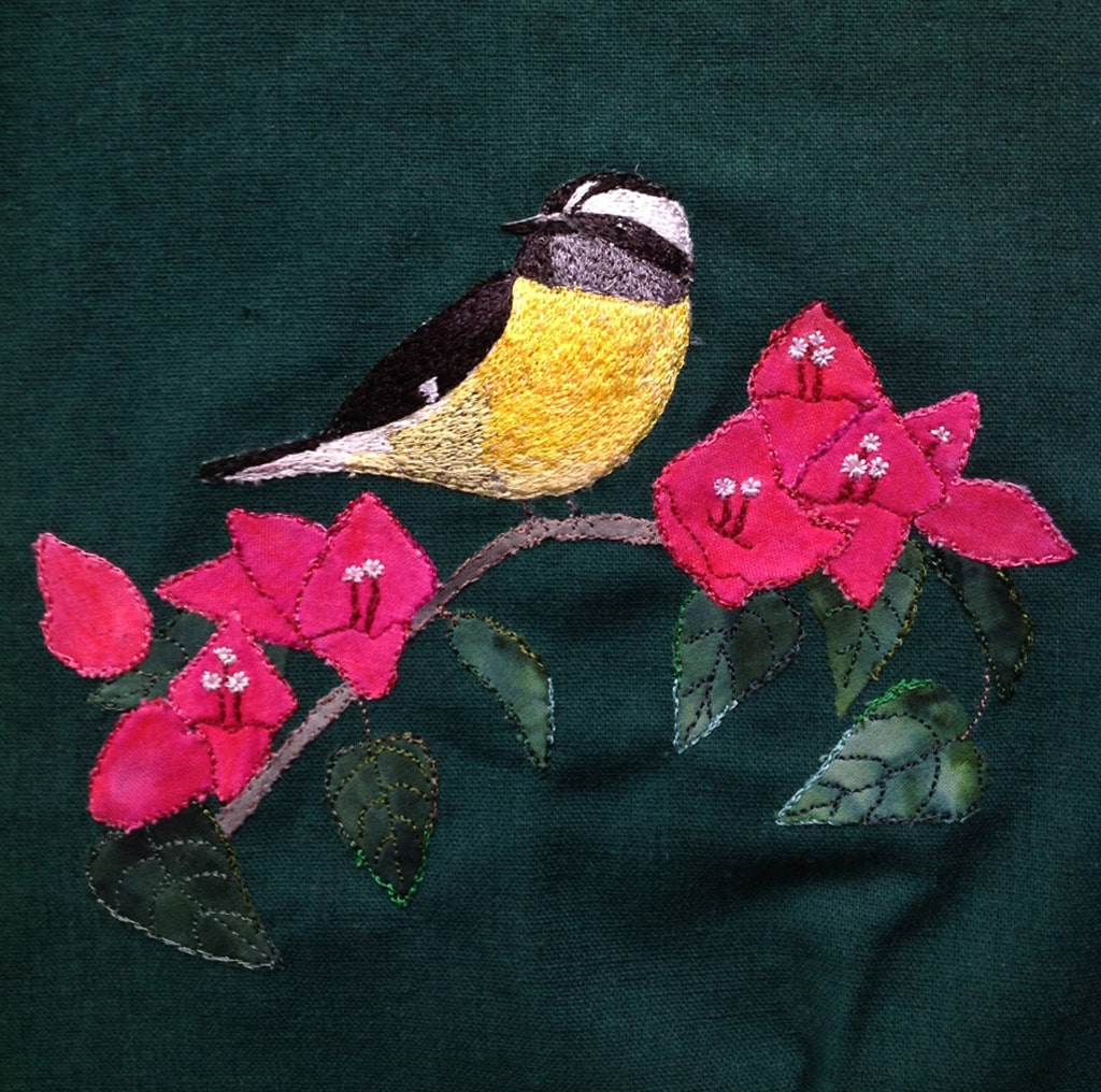 bananakeet -thread applique