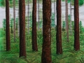 The Forest 1-thread painting