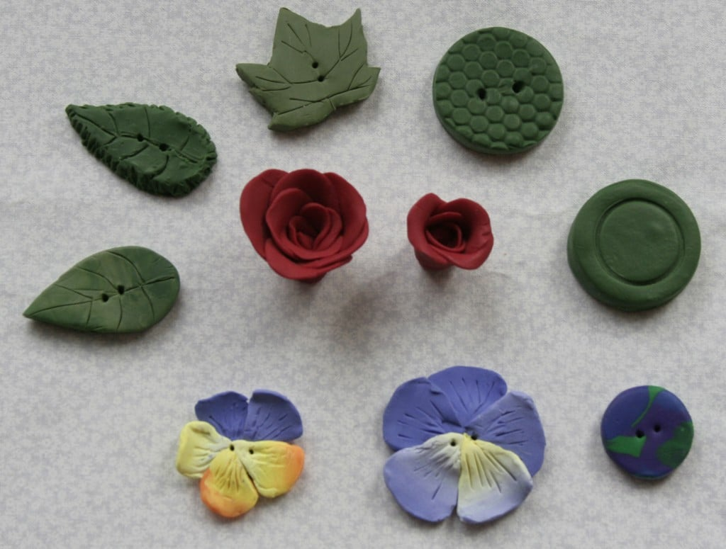for Needlework and Quilted Wall hangings Hummingbird Polymer Clay Buttons and Embellishments