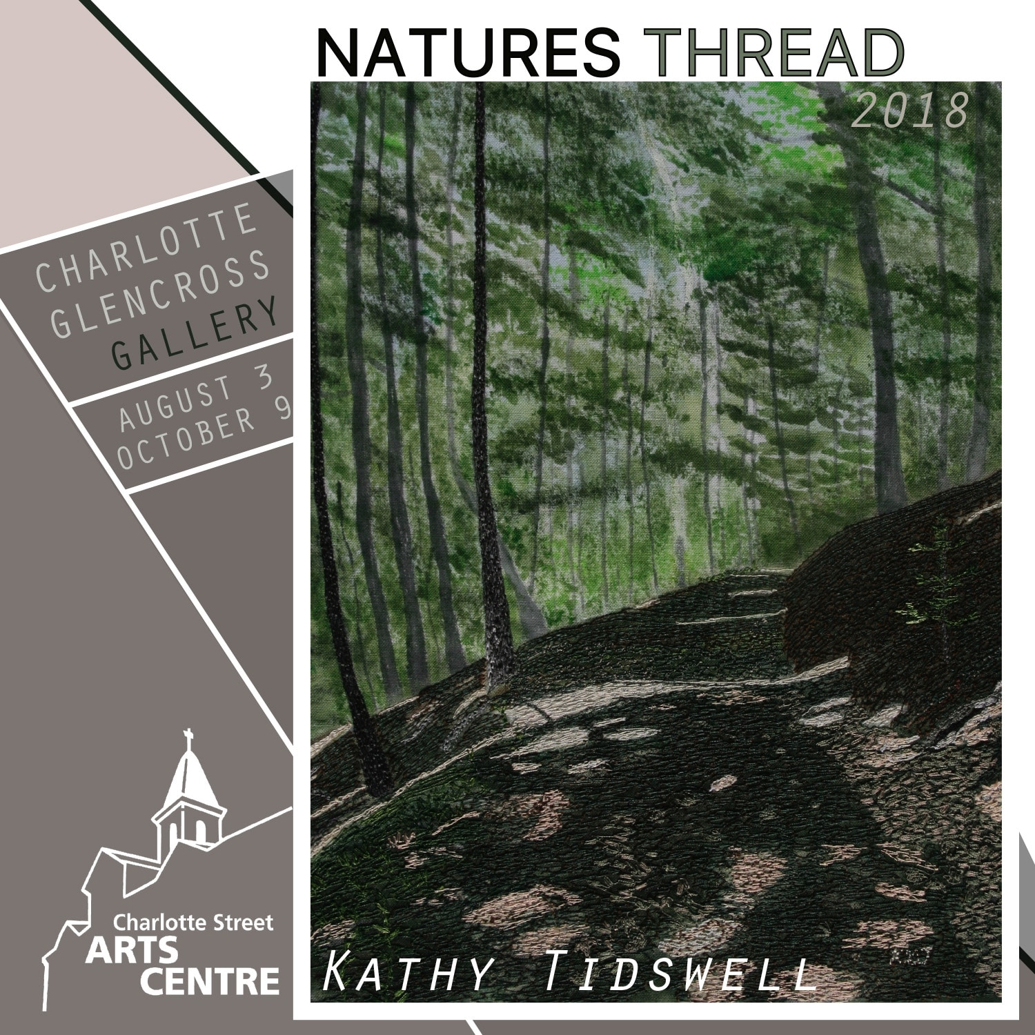 Opening of Upcoming Exhibition, Natures Thread 2018